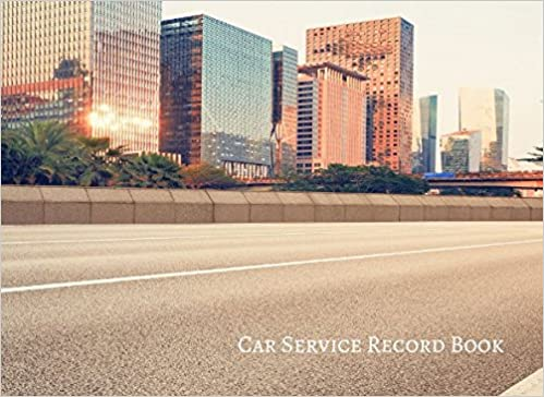 car service record book vehicle maintenance log journals for all