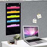 Hanging File Holder Organizer Rack, 5 Pocket File