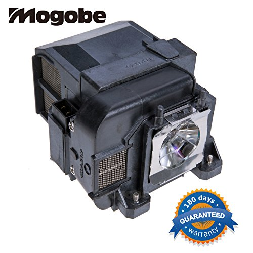 For ELPLP75 Replacement Projector Lamp with Housing for EPSON EB-1930 / EB-1940W / EB-1945 / EB-1945W / EB-1950 / EB-1955 / EB-1960 / EB-1965 / Powerlite 1930 / Powerlite 1940 / Powerlite 1940W / Powerlite 1945 / Powerlite 1945W / Powerlite 1950 / Powerli