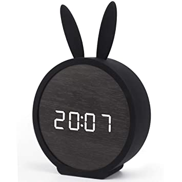 Amazon.com: Justup - Reloj despertador digital para niños ...