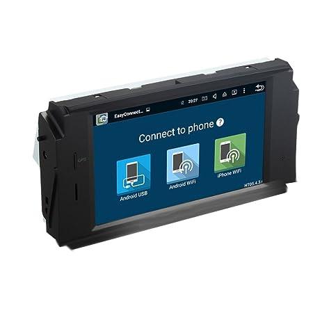 taffio® Mercedes Benz Clase C W204 Android Auto Radio Pantalla Táctil Navi DVD USB WiFi SD: Amazon.es: Electrónica