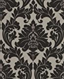 Graham & Brown 30-419 Superfresco Easy Majestic Wallpaper, Black and Gold
