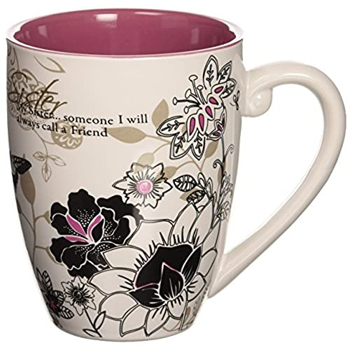 Mark My Words Sister Mug 4 3 Inch 20 Ounce Capacity