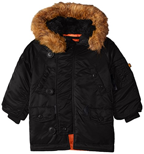 Alpha Black Boys' Little Alpha Industries Industries 6xaCr6wq