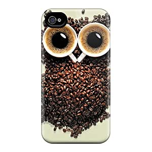 Defender Case For Iphone 4/4s, Owl Pattern
