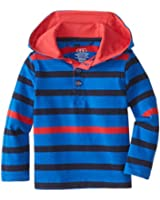 Egg by Susan Lazar Baby Boys' 3/4 Button Hoodie