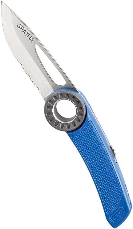 PETZL Messer Spatha - Cuchillo de Hoja Fija, Color Azul, Talla ...