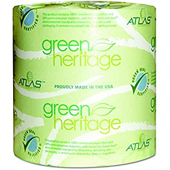 Green Heritage 276 2 Ply Bathroom Tissue 4 1
