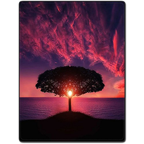 TSlook 40x50 Blankets Funny Silhouette Trees Silhouettes Sunset Comfy Funny Bed Blanket (Cheap Mexican Ponchos)