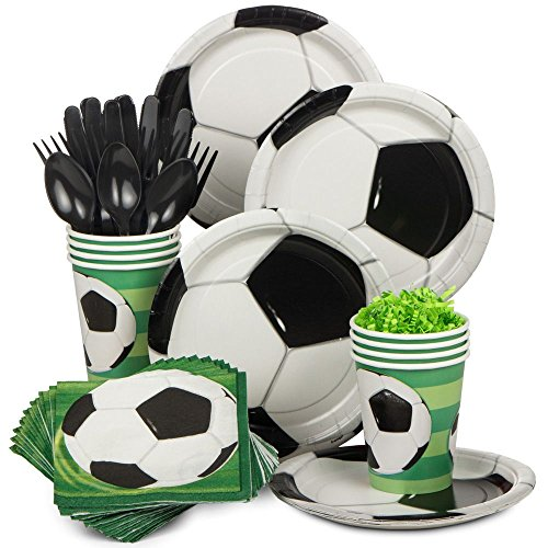 Soccer Party Standard Kit (serves (Soccer Birthday Theme)