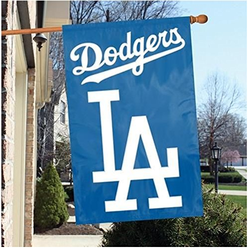 Party Animal Official Major League Baseball Fan Shop Authentic MLB Team Sports Man Cave Flag - Banner (Los Angeles Dodgers)