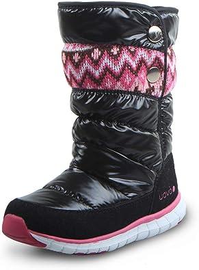 Otamise Boys Girls Outdoor Waterproof Cold Weather Winter Snow Boots Toddler//Little Kid//Big Kid