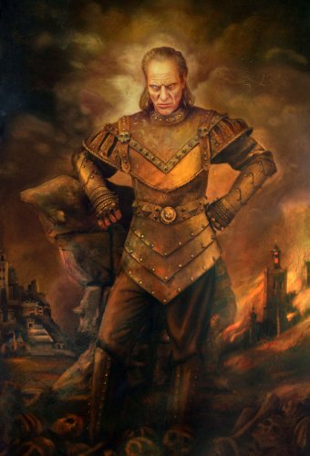 Vigo The Carpathian Ghostbusters Painting Movie Poster 24x36 inch -