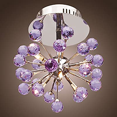 Modern Mini Light Crystal Chandelier Pendant Lamp Ceiling Fixture Home Lighting ,,#id(southbeauty__JENT57272208257541