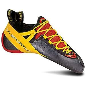 La Sportiva Unisex Genius Climbing Shoe, Red, 34.5 M EU