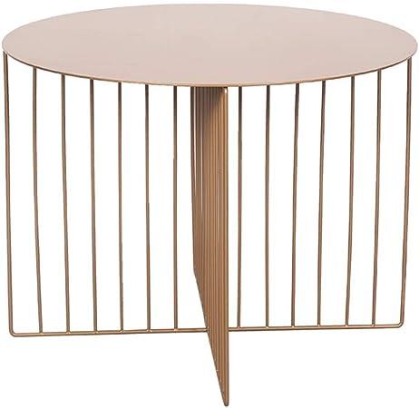 Zfggd Table Basse Ronde, Salon Table de Chevet Chambre Table ...
