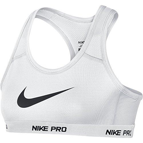 Nike Girls Hypercool Pro Sports Bra White/Black 641644-100 Size Small