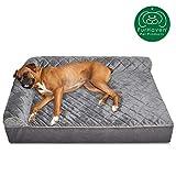 Furhaven Pet Dog Bed | Deluxe Orthopedic Goliath Q...