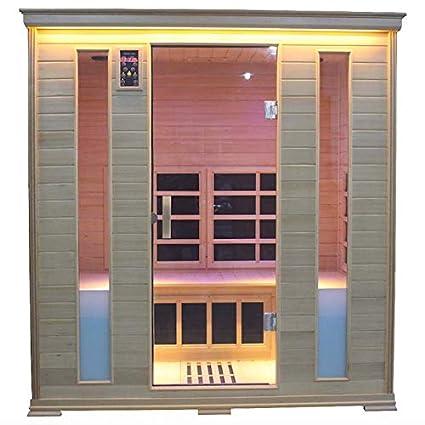 Sauna Infrarossi Finlandese Luxury Eco 188x148 Cm Amazon It
