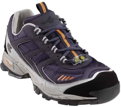Nautilus Men's Steel Toe Athletic Sneakers,Blue,13 XXW ()