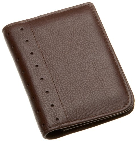 Cross Brown Pebbled - Cross Autocross AC192-9 Men's Money Wallet Collection Folded ID Card Case (Brown)