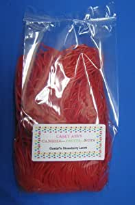 Gustaf's Strawberry Licorice Laces 2 Pound Bag