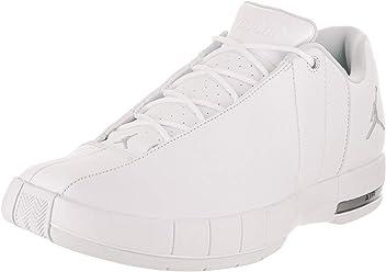 e69d43382de Jordan Mens Team Elite 2 Low White Mtllc Silver Platinum Size 9