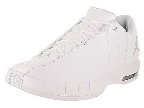 the latest a853d f554f Nike Jordan Men's Jordan TE 2 Low White/Metallic Silver ...