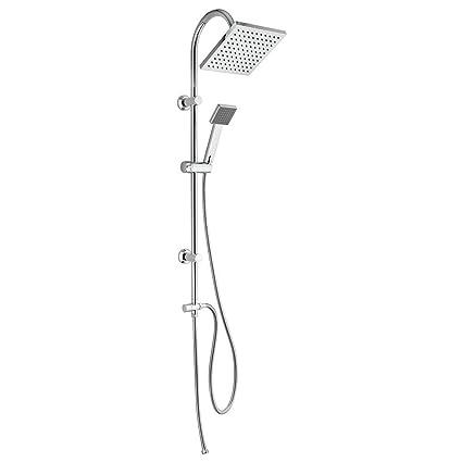 ⭐ Jacuzzi PIRALLA ⭐ Juego columna ducha ⭐ alcachofa 20 X 20 ...