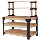 2x4 Basics 90164 Workbench and Shelving Storage System