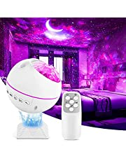 Star Projector Galaxy Light Projector Star Nebula Night Light Projector with Remote Control, LED Galaxy Cove Projector for Room Bedroom Home Decor
