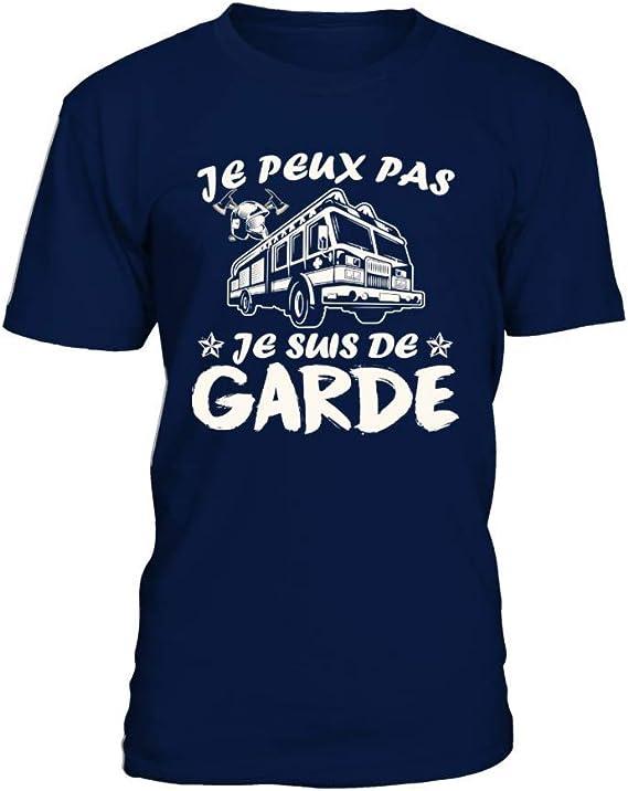 T-shirt HOMME J/'PEUX PAS JE SUIS DE GARDE