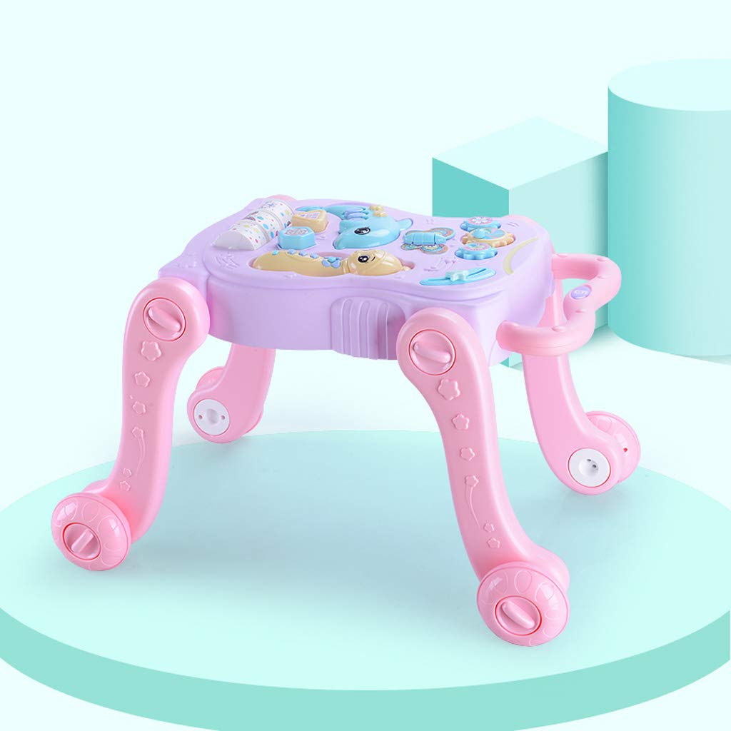 Andador de bebe Baby Walker Trolley antivuelco Baby Learning ...