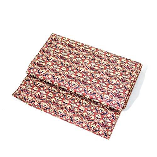 Nagoya OBI: Belt for Kimonos Russet Color sarasa Design for sale  Delivered anywhere in USA