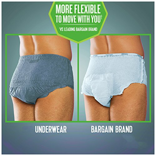Depend FIT-Flex Incontinence Underwear for Men, Maximum Absorbency, L by Depend (Image #6)