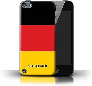 eSwish Personalizado Bandera Nacional Nación Personalizar Funda para el Apple iPod Touch 5 / Alemán/Alemania Diseño/Inicial/Nombre/Texto Carcasa/ Estuche/Case: Amazon.es: Electrónica
