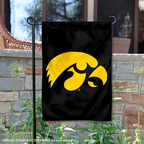 College Flags and Banners Co. Iowa Hawkeyes Garden Flag - Iowa Hawkeyes Wall Border