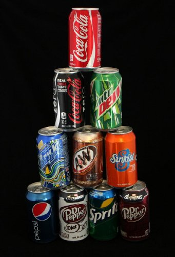 Lot of 10 Coca Pepsi Cola Soda Diversion Safe Can