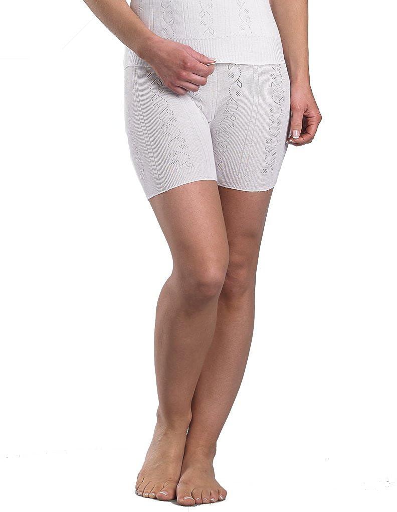 Slenderella Chilprufe Cotone Pantaloni con gamba CUW518