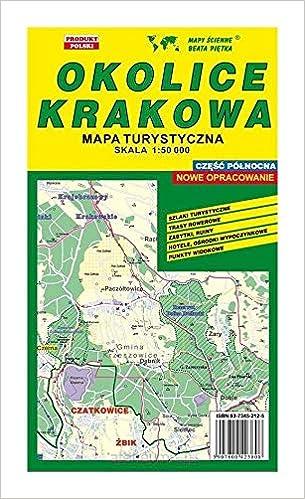 Okolice Krakowa Czesc Polnocna 1 50 000 Polish Edition