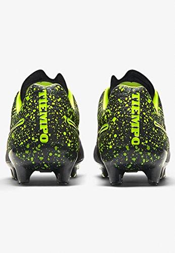 Nike Tiempo Légende Vfg 631,518 Hommes Chaussures De Football Entraînement Noir / Blanc