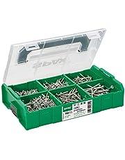 SPAX montagekoffer, L-BOXX Mini, klein, WIROX A3J, T-STAR plus, verzonken kop, 6 afmetingen, 703 stuks, incl. 3 SPAX BITs T20, 5000009162019