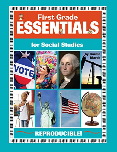 Books : First Grade Essentials for Social Studies (Everything Book)