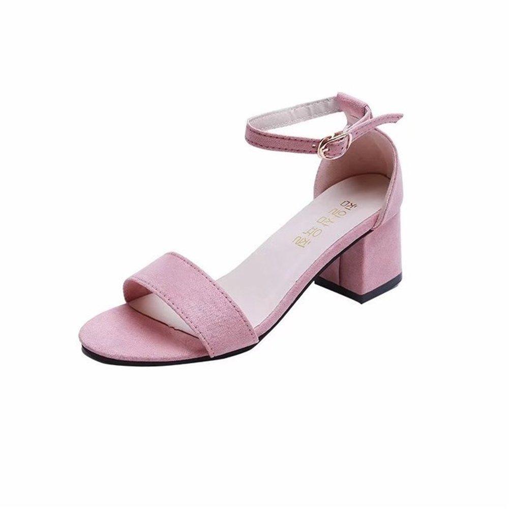 SHINIK Femmes Chaussures En Daim Toe Été SHINIK Bas Mi-Talon 11767 Bloc Peep Toe Dames Cheville Strap Party Strappy Sandales B 9334c13 - deadsea.space