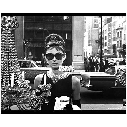 Audrey Hepburn 8 x 10 Photo My Fair Lady Funny Face Sabrina Breakfast at Tiffany's Outside Tiffany's Window kn (Pics Of Audrey Hepburn compare prices)