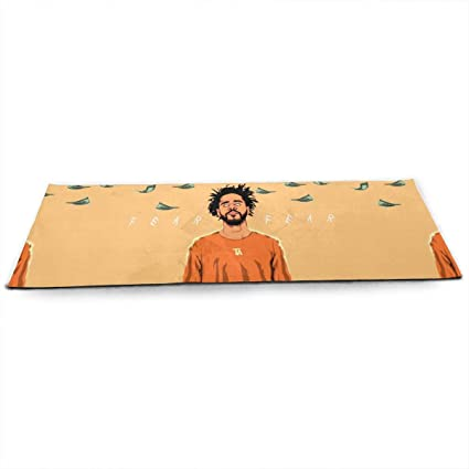 Amazon.com: John A Nunez J Cole Yoga Mat Non-Slip Exercise ...