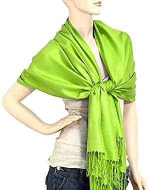 Women's Soft Solid Color Pashmina Shawl Wrap Scarf 80