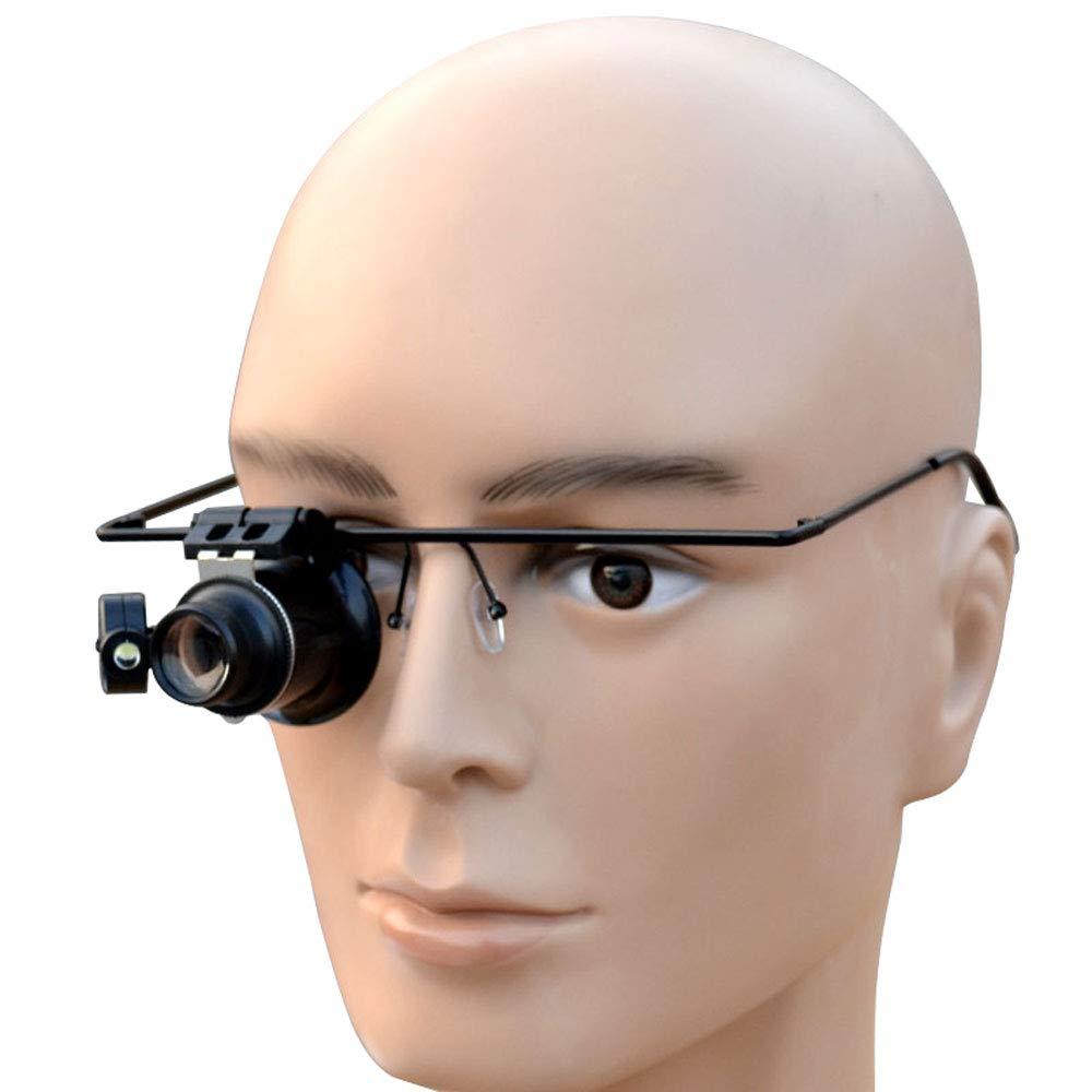 大注目 GaoJinZhuan 20倍LEDライトアイマスクメガネ虫眼鏡の修復ツールアンティークの宝石の識別 B07KQT7CJ3 B07KQT7CJ3, きもののきらくや:833cdd9c --- a0267596.xsph.ru