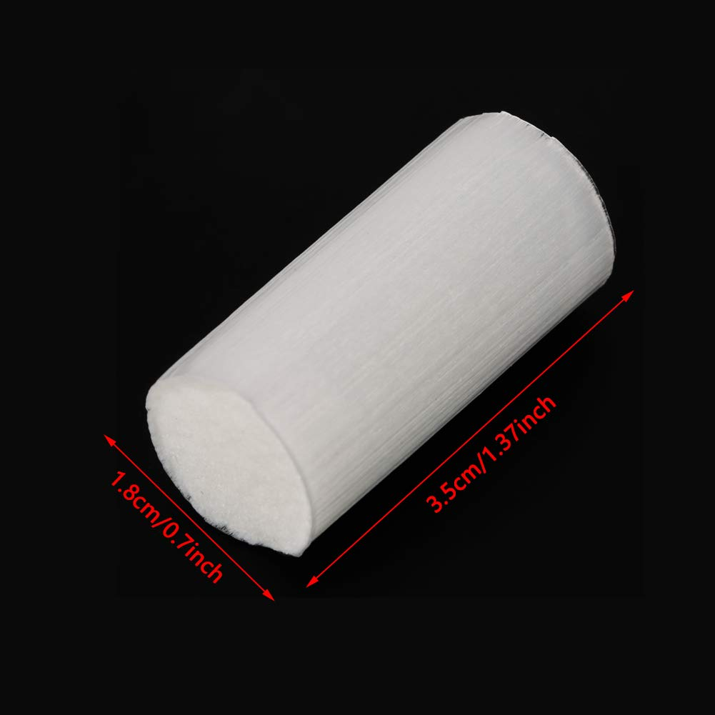 Absorb Water and Oil Well Water and Oil Filter Cotton 30pcs Universal Cotton Filter for high Pressure air Pump Oil and Water Separator Cotton Filter