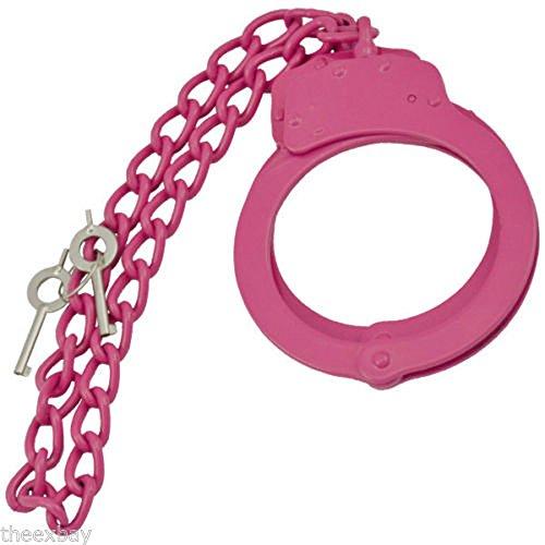 Spring Swat Assist (Pink Police Heavy Duty Leg Cuffs Double Locking)